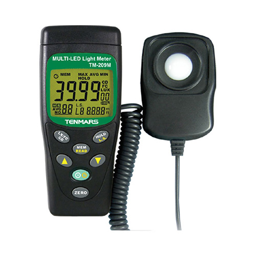[Tenmars, TM-209M] LUX, FC Multi-LED Light Meter, 조도계
