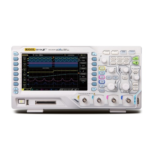 [RIGOL DS1104Z Plus] 100MHz 4Ch, logic , Digital Oscilloscope, 디지털 오실로스코프