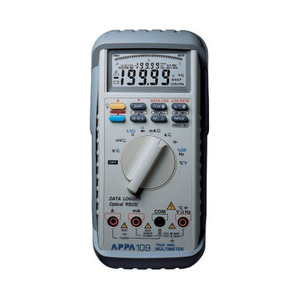 [APPA 109N(including USB cable&software)] Dual Display, 20000 Count Digital Multimeter, DMM, 디지털멀티미터