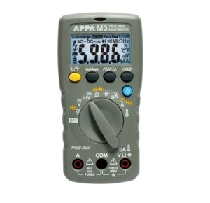 [APPA M2] 소형, T-RMS, DCV 0.5%, 6000 Count Digital Multimeter, DMM, 디지털멀티미터