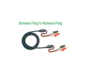 [HN-A100] Banna Plug to Alligator Clip