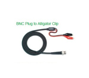 [HB-A100] BNC to Alligator Clip