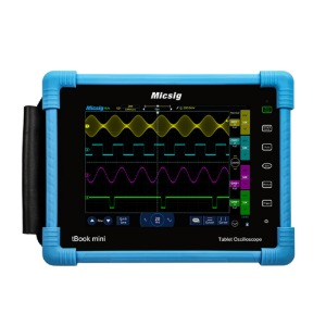 [MICSIG TO1104]150MHz 2Ch t-Book Mini Tablet Oscilloscope, 테블릿 오실로스코프